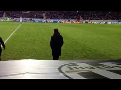 Massimiliano Allegri gets mad