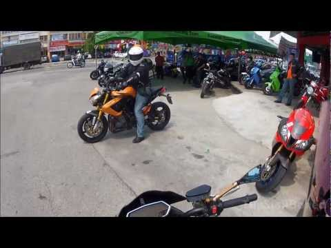 Benelli TnT 899 Test ride + PoV