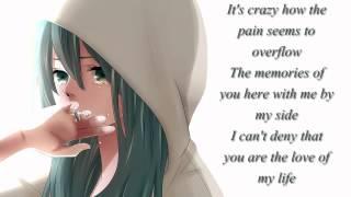 ~Nightcore - If I Cry A Thousand Tears with Lyrics~