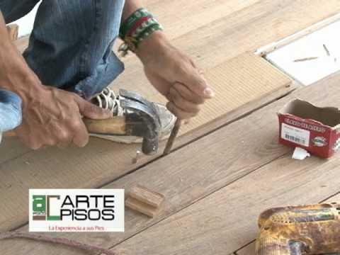 Todo sobre pisos en madera youtube - Como hacer un piso de hormigon lustrado ...