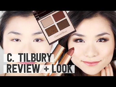 Charlotte Tilbury Product Review + Fall Smokey Eye Makeup Tutorial   Monolid    Miss Louie