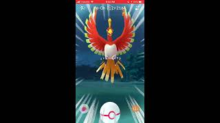 Catching Ho-oh in Real Life - Legendary Pokémon Raid