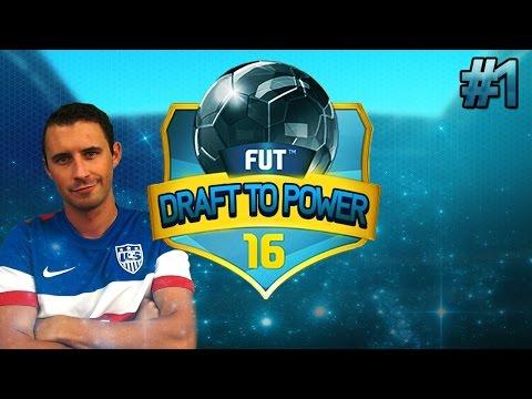FUT 16 Draft to Power #1 - AMAZING START!!!!