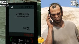 What If You Call GTA 5 Phone Number In GTA 4?