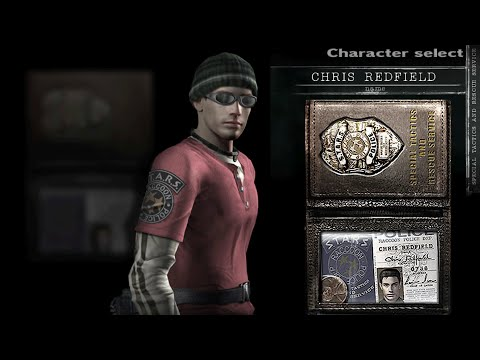 """Chris Redfield Street Thug Outfit """"The Mexican"""" Skin Resident Evil HD Remaster [1080p60]"""