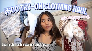 $600 TRY-ON CLOTHING HAUL 2019