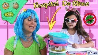 TEM BICHINHOS NA MINHA SLIME !!?? HOSPITAL DE SLIME - ANNY E EU