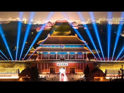 中國-CCTV-2019 故宮紫禁城上元之夜元宵節燈會