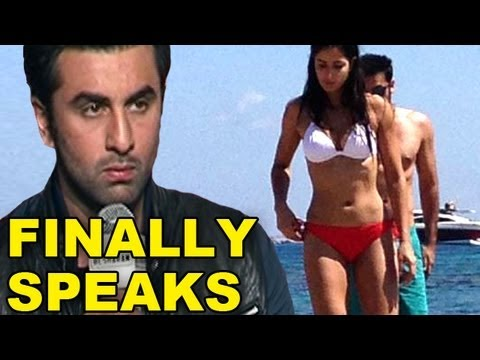 Ranbir Kapoor Finally Talks On His Leaked Pictures With Katrina Kaif In Bikini video