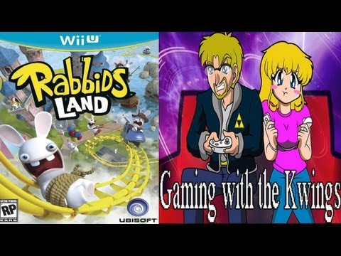 Gaming with the Kwings - Rabbids Land Wii U [HD]