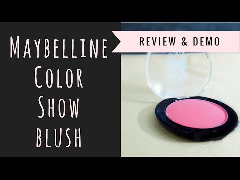 Maybelline Color Show Blush | Review & Swatch