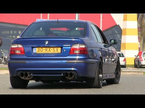 THIS HAMANN BMW M5 E39 IS A MONSTER! | INSANELY LOUD REVS + ACCELERATION
