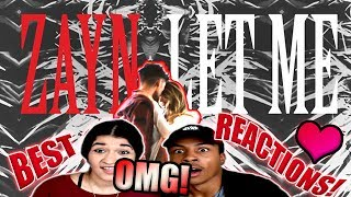 Download Lagu Zayn- Let Me(BEST REACTIONS😱 W/ MY GF😍) Gratis STAFABAND