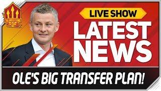 Solskjaer Transfer Plan Revealed! Man Utd News