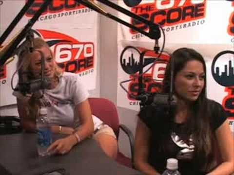 Laurie Fetter and Pilar Lastra with 670 The Score Part 1 Video