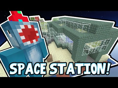 Minecraft Xbox - SPACE STATION!! - Building Time! [#64]