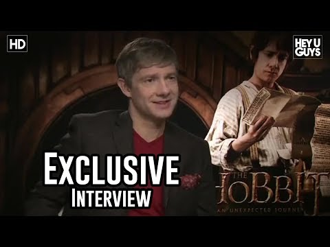 Martin Freeman Interview - The Hobbit: An Unexpected Journey