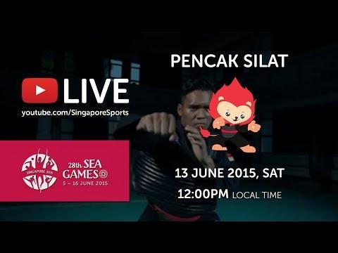 Pencak Silat Tanding Class Semi-Final (Day 8)   28th SEA Games Singapore 2015
