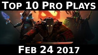 Dota 2 Top 10 Pro plays 1 - JEBAITED WOMBO COMBO !