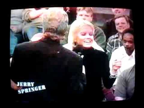 Jerry Springer Audience Flashers Get Insulted.