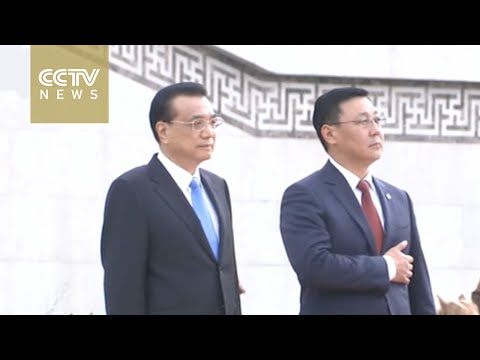 Premier Li Keqiang meets Mongolia's new PM