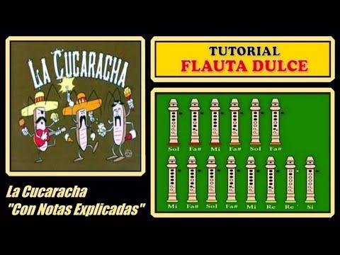 La Cucaracha en Flauta