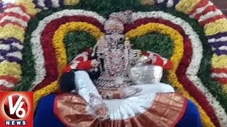 Yadadri Annual Brahmotsavam | Lakshmi Narasimha Swamy Appears In jaganmohini Avatar