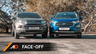 AutoDeal Face Off: Ford Ecosport 2019 vs. 2018