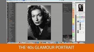 The '40s Glamour Portrait