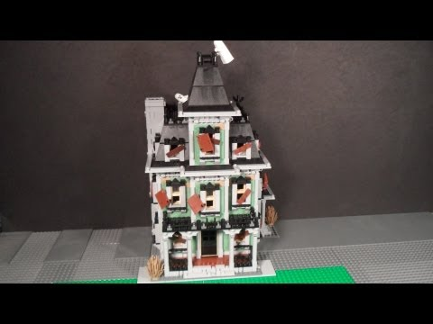 Lego 10228 Review Haunted House Monster Fighters