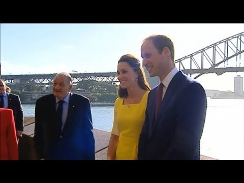 Prince William And Kate At The Sydney Opera House video