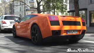 LAMBORGHINI GALLARDO - START UPS, REVS, ACCELERATIONS