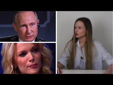 Песков несет пургу / интервью Путина Мегин Келли