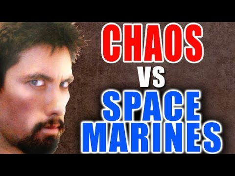 Chaos vs Space Marines Warhammer 40k Battle Report - Banter Batrep Ep 84
