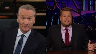 James Corden Slams Bill Maher for Fat-Shaming Remarks