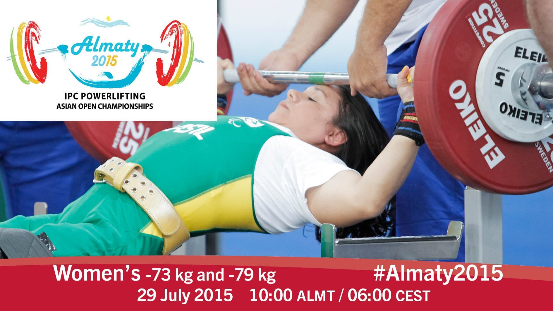Women's -73 kg and -79 kg | 2015 IPC Powerlifting Asian Open Championships, Almaty