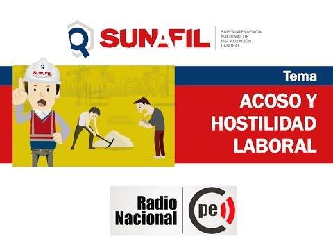 ¿Qué hacer frente al acoso u hostigamiento laboral? - Sunafil / Radio Nacional