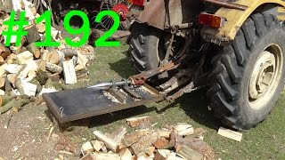 192# Życie zwyczajnego rolnika - Prezentacja łuparki świdrowej do drewna