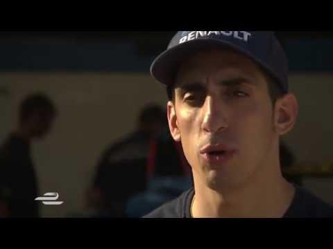 Long Beach ePrix - Sebastien Buemi entretien d'avant-course