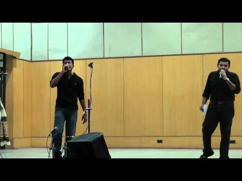 Oru madhurakinavin remix performance at IIT Madras-Deepak and...
