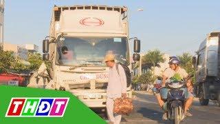 Xe tải tự tông vào lan can cầu Cà Sao (Lai Vung) | THDT