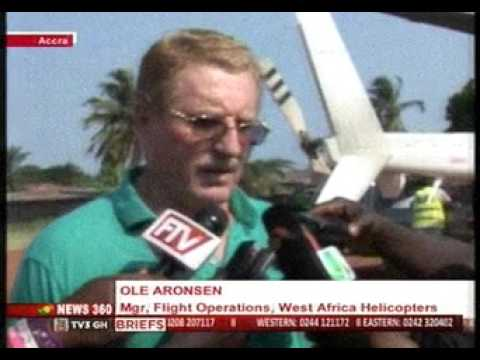 News360 - Helicopter makes emergency landing on school field in Accra - 2/12/2015