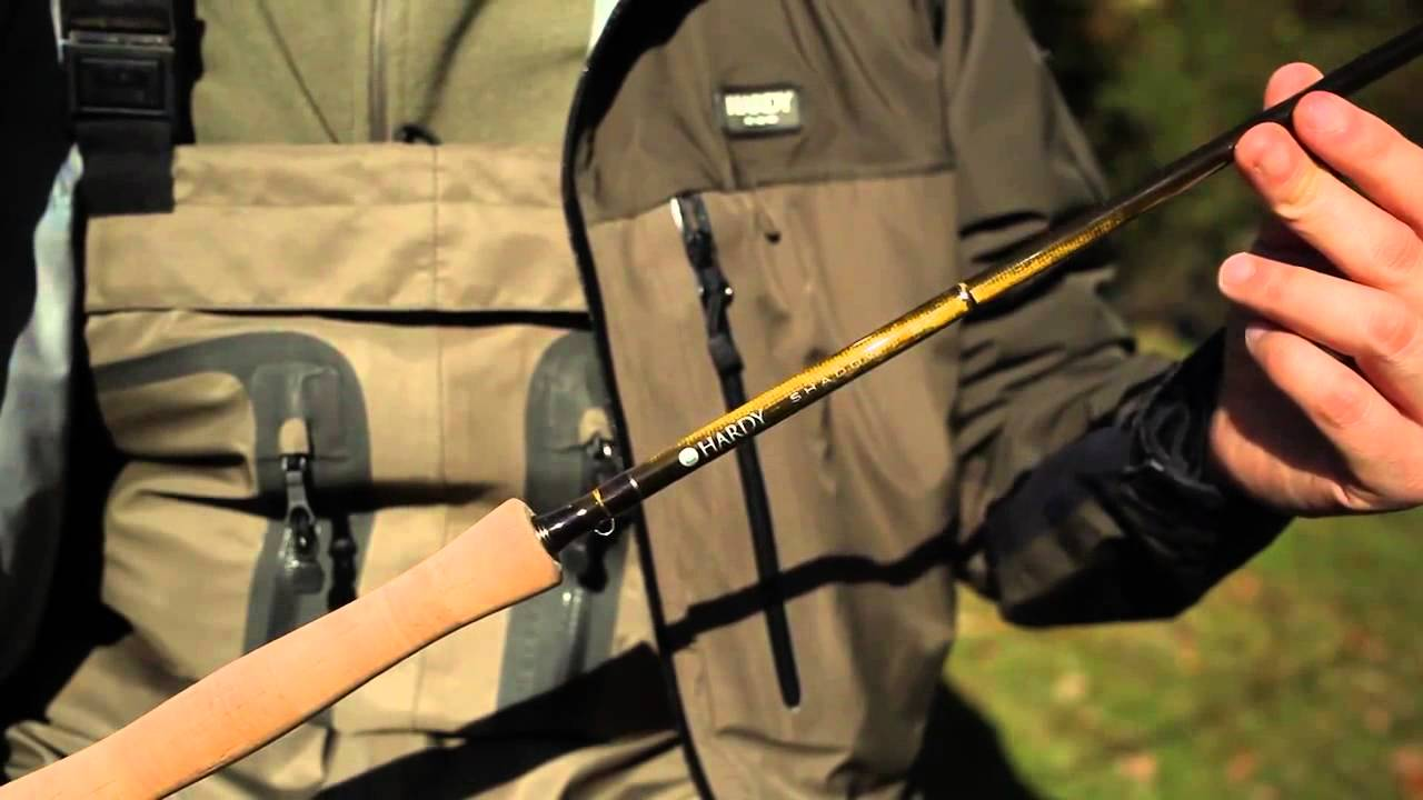 Hardy shadow fly rods from fishtec fishing media for Shadow fly fishing