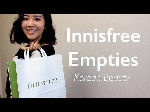 Innisfree Empties Review