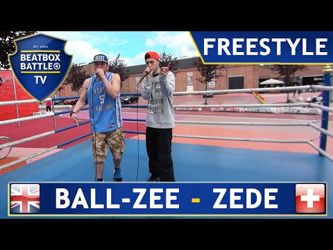 Ball-zee & Zede - Freestyle - Beatbox Battle Tv (fight Club Edition) video