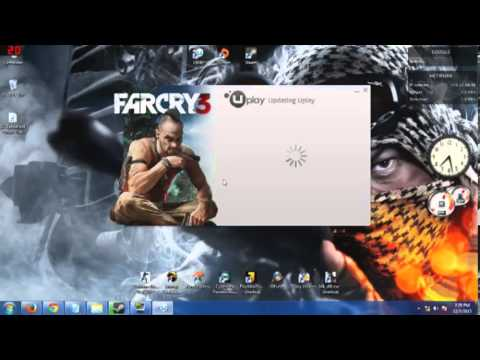 fixing uplay to launch Farcry3 from steam(Farcry3 coop intro included)