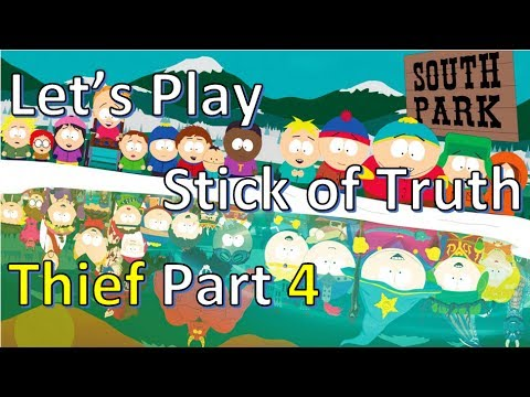 Let's Play South Park: Stick of Truth Part 4 (Jail Break + Finding JeeeesusChrist + Sex w/ Horse)