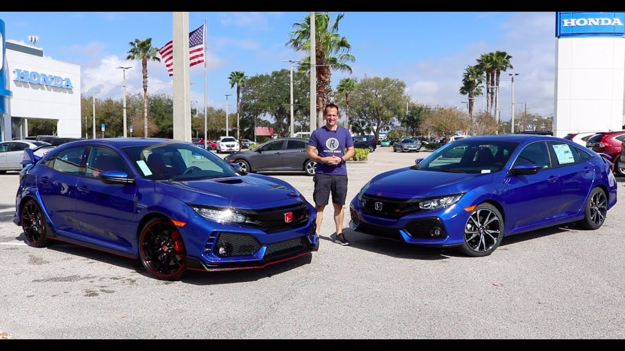 Why does the 2019 Honda Civic Type R cost MORE than the Civic Si?