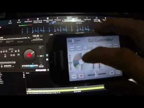 Como usar Dj Control (appAndroid) (win7&virtualDJ)