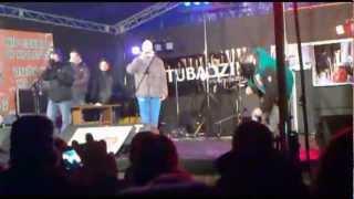 WOŚP SIERADZ 2013 KaeN - w moich butach/alter ego #LIVE HD (A cappella Beatbox)
